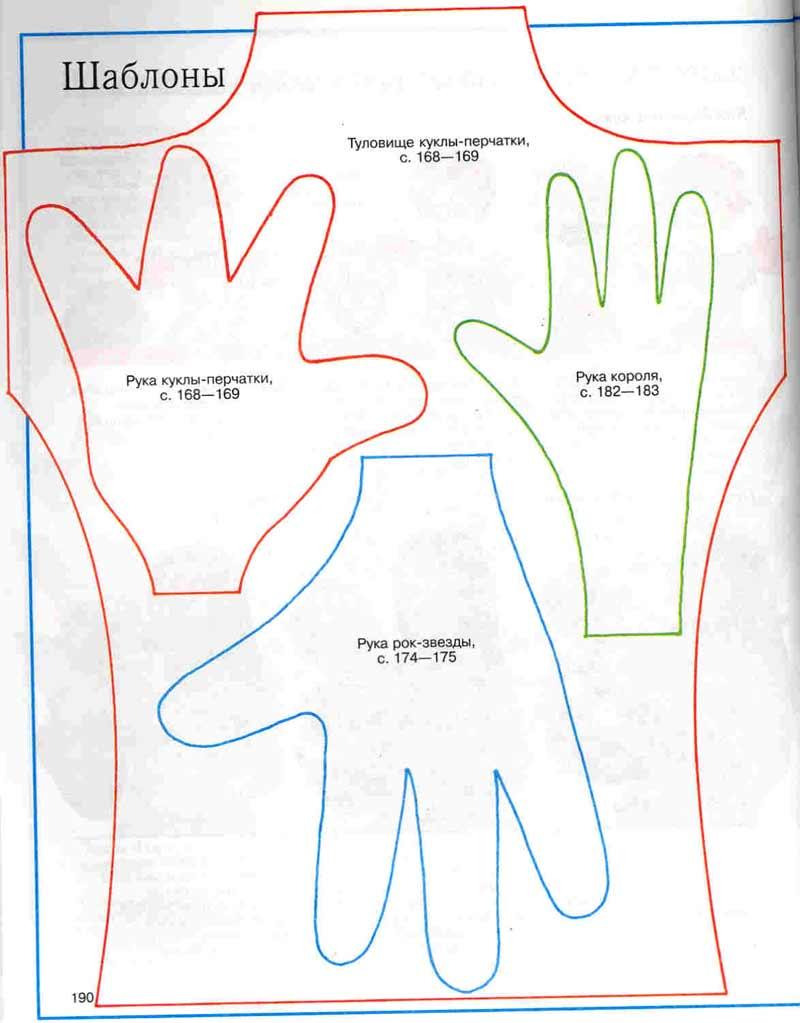Как сделать куклу на руке